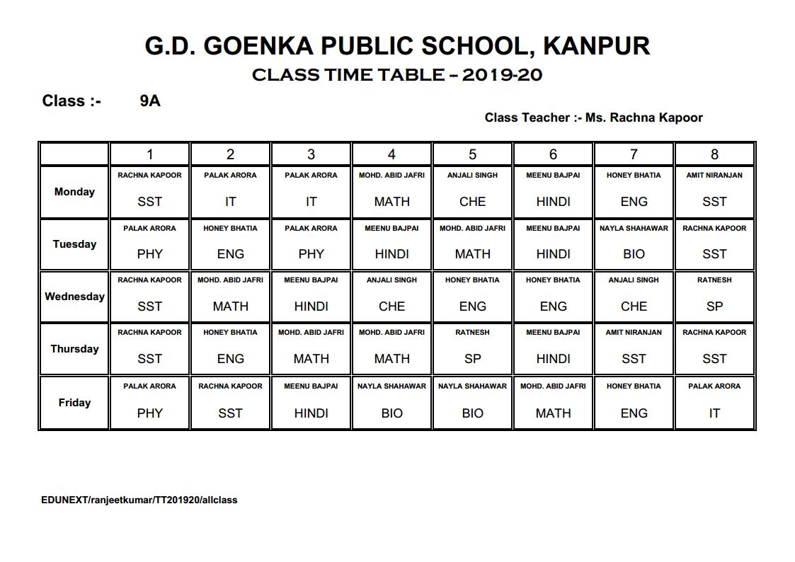 G D Goenka Public School Kanpur